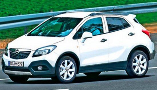 В марте Opel покажет кроссовер.Опель Мокка.