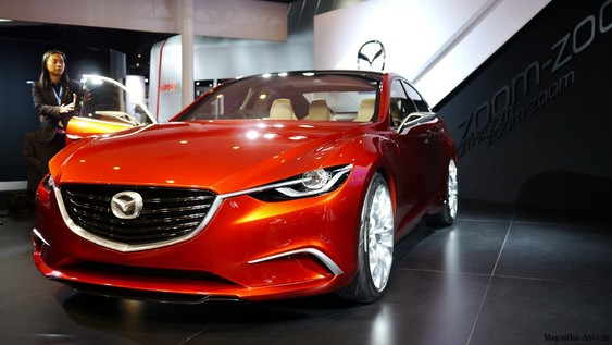 Mazda Takeri новый концепт. Мазда Такери.