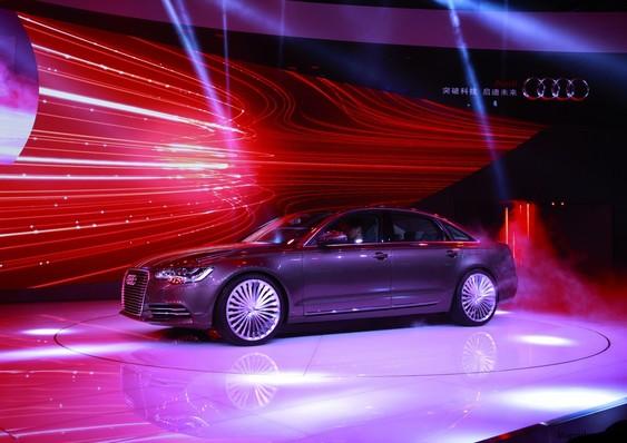 Audi A6 L e-tron концепт