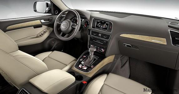 Обновлённый внедорожник Audi Q5