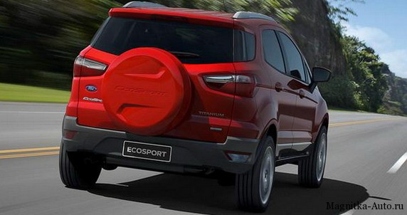 Ford EcoSport на выставке в Пекине