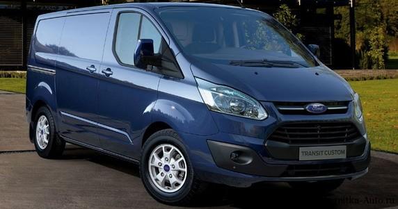 Ford Transit Custom - грузовой коммерческий автомобиль.