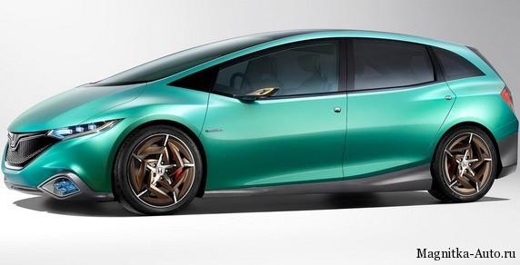 Honda представила Концепт S и Концепт C