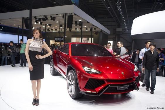 Lamborghini Urus Concept на автосалоне в Пекине