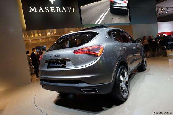 Концепт внедорожника Maserati Kubang запускается в серийное производство