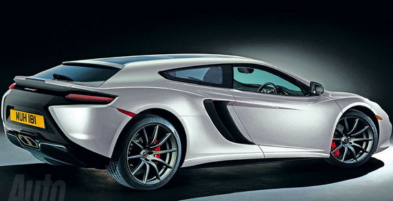 McLaren MP4-12C Shooting Brake