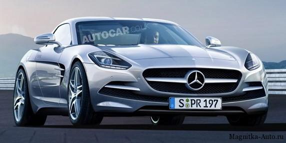 Mercedes SLC официально подтверждён