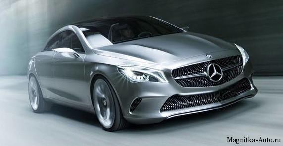 Mercedes Concept Style Coupe & Mercedes CLA.