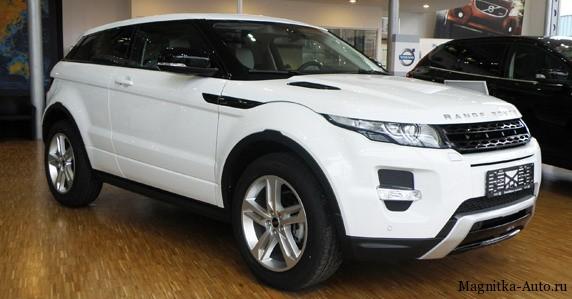Range Rover Evoque - обладатель премии, женский автомобиль года.