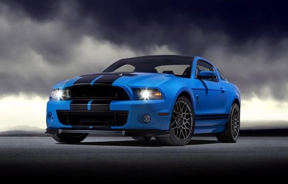Презентация Shelby Mustang GT500 2013