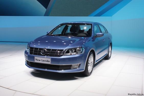 Обновлённый Volkswagen Lavida