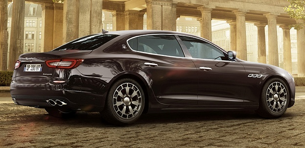 Новый 4.0L V8  двигатель для Maserati Ghibli