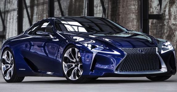 Lexus LF-LC серийная версия