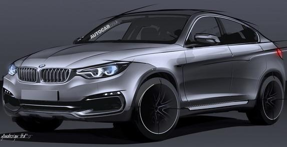 Новый  BMW X6 представят в Москве