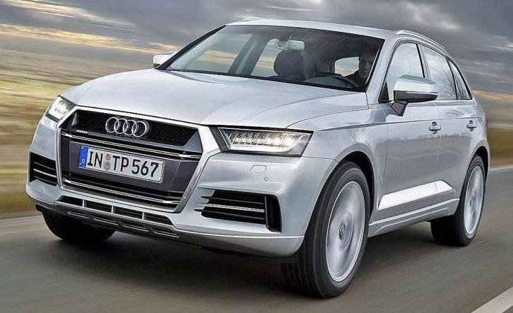 Новый Audi Q5 2016