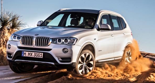 Обновлённый BMW X3 2015