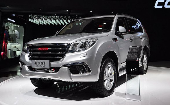 Great Wall Haval Coupe Concept и Haval H9