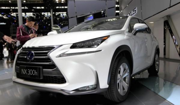 Lexus NX на авто выставке в Китае