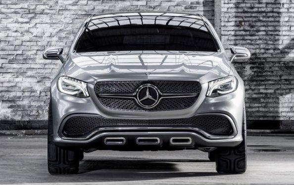 Внедорожник Mercedes Concept Coupe SUV