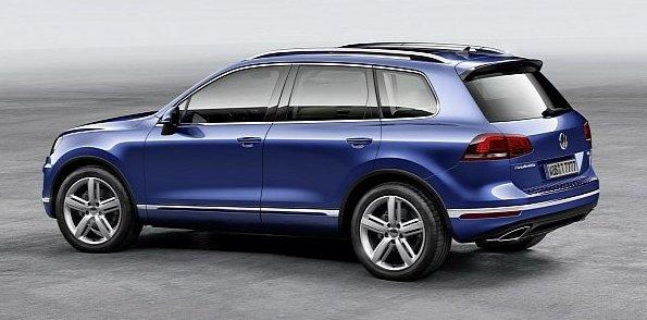 Обновлённый Volkswagen Touareg 2014