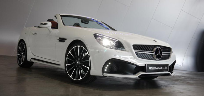 Photo of Wald International Mercedes-Benz SLK Black Bison
