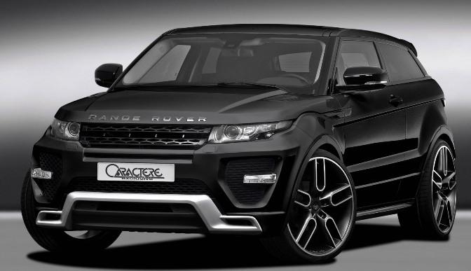 Photo of Caractere Range Rover Evoque
