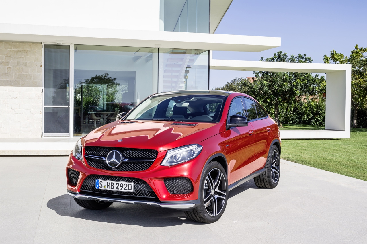 2015 Mercedes-Benz GLE 450 AMG 4MATIC Coupe