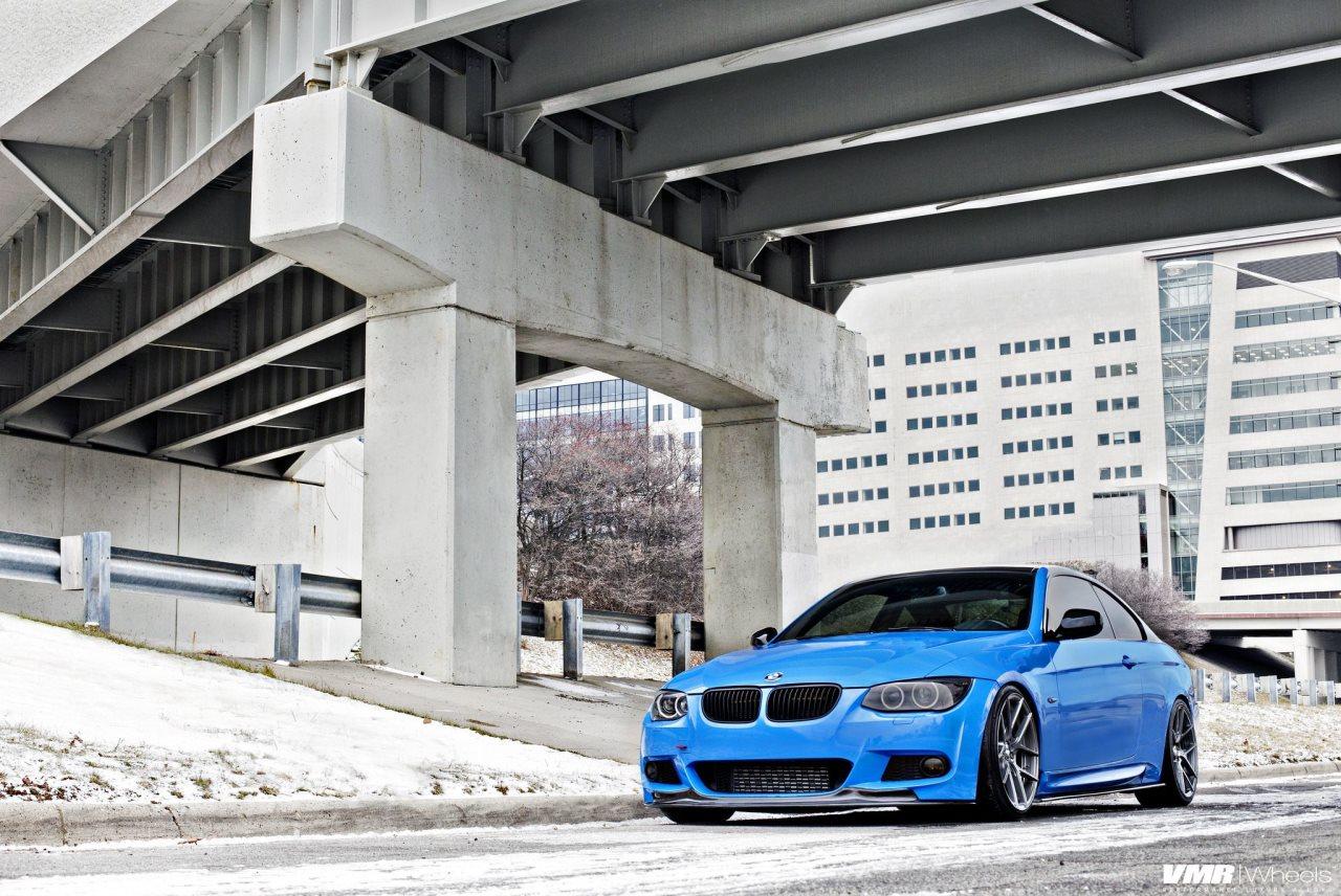 BMW 335i with VMR Wheels
