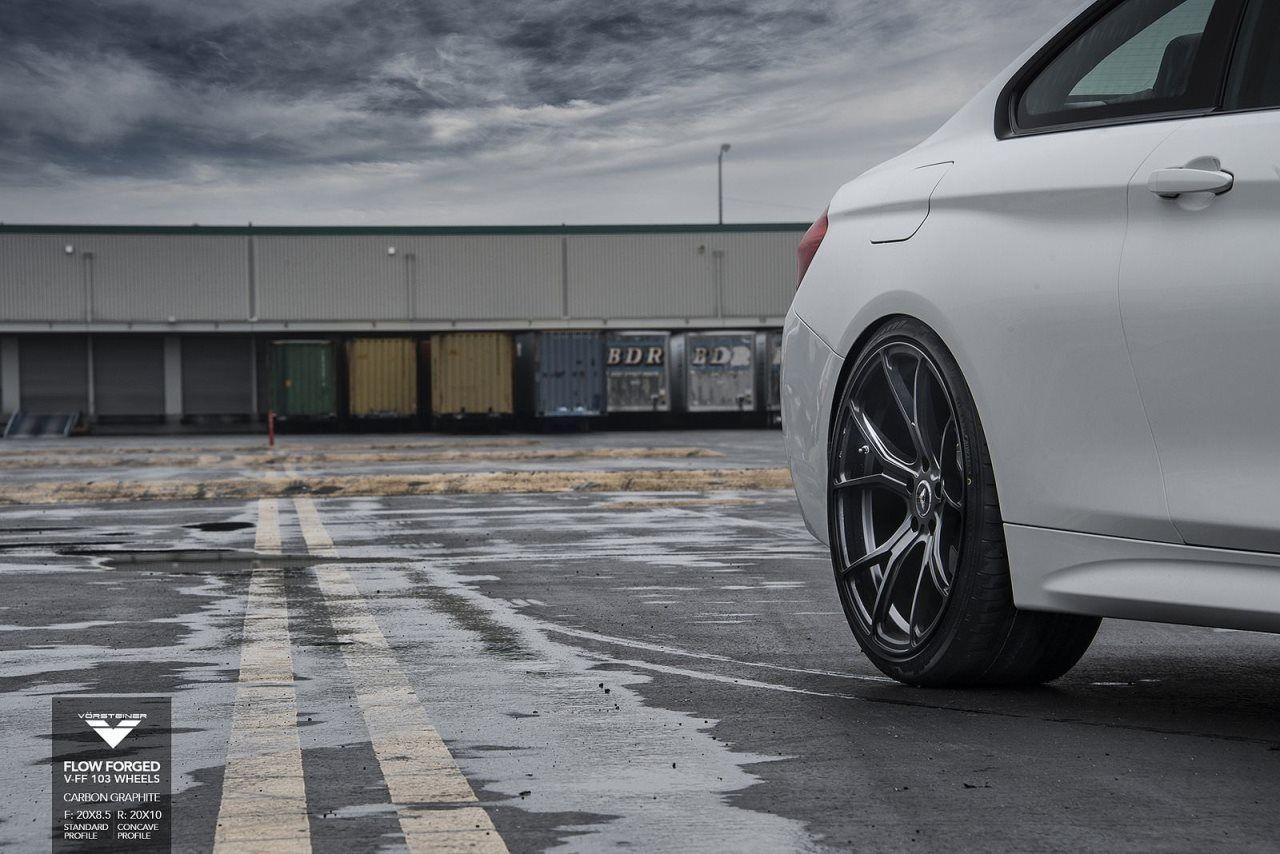 BMW 4-Series on Vorsteiner Wheels