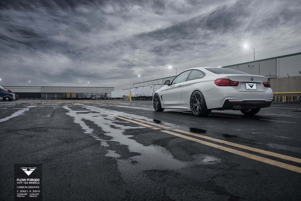 BMW 4-Series on Vorsteiner Wheels