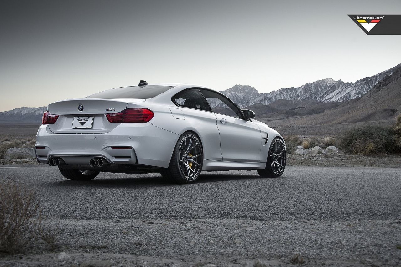 BMW M4 on Vorsteiner Wheels