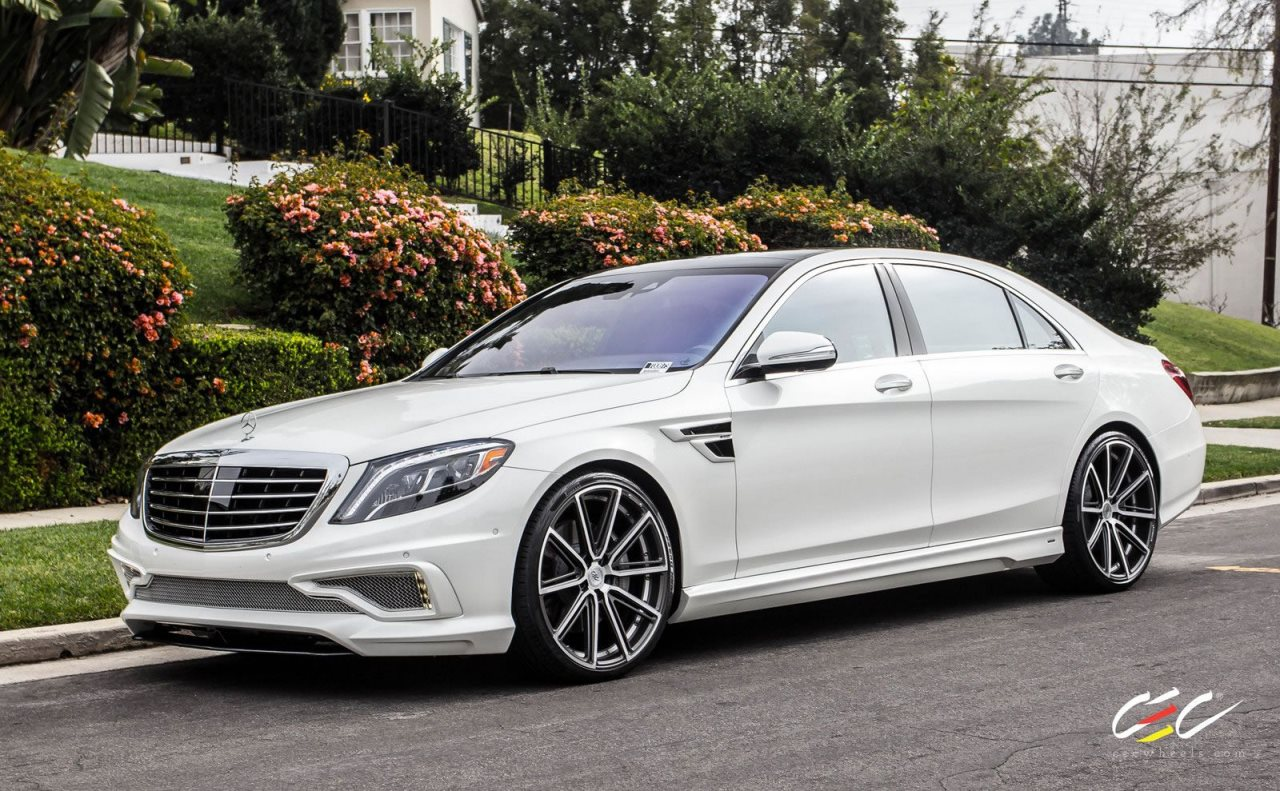 Carlsson Mercedes Benz S550 On Cec Wheels