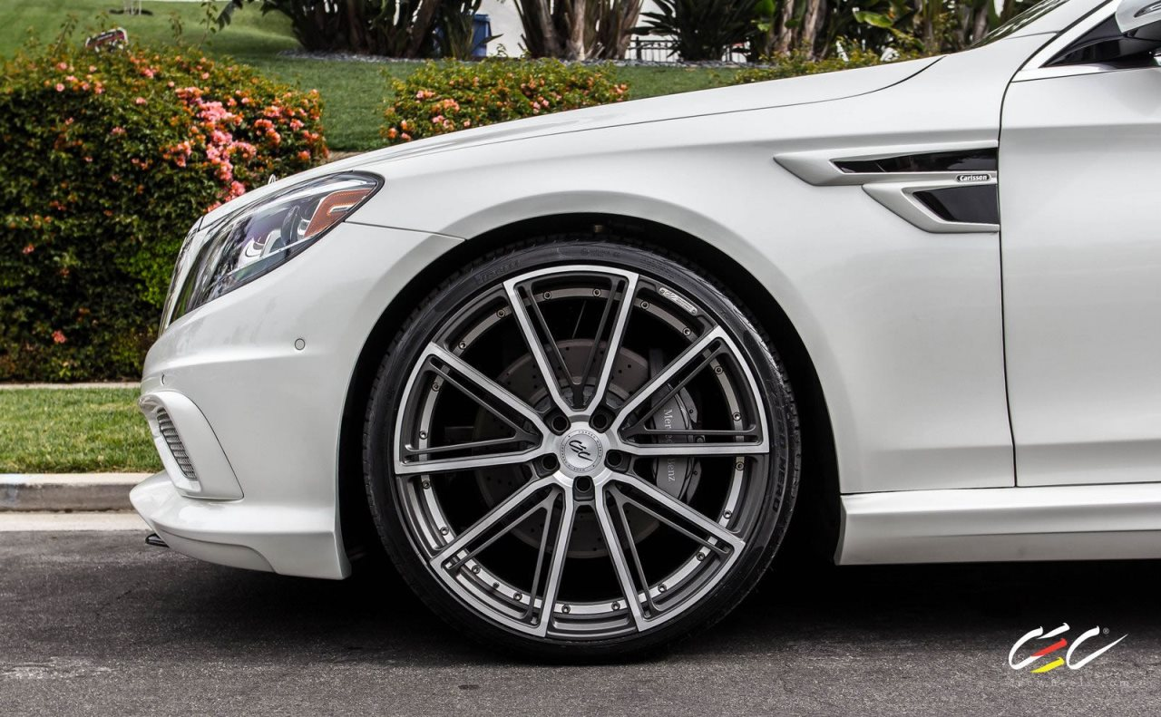 CARLSSON Mercedes-Benz S550 on CEC Wheels