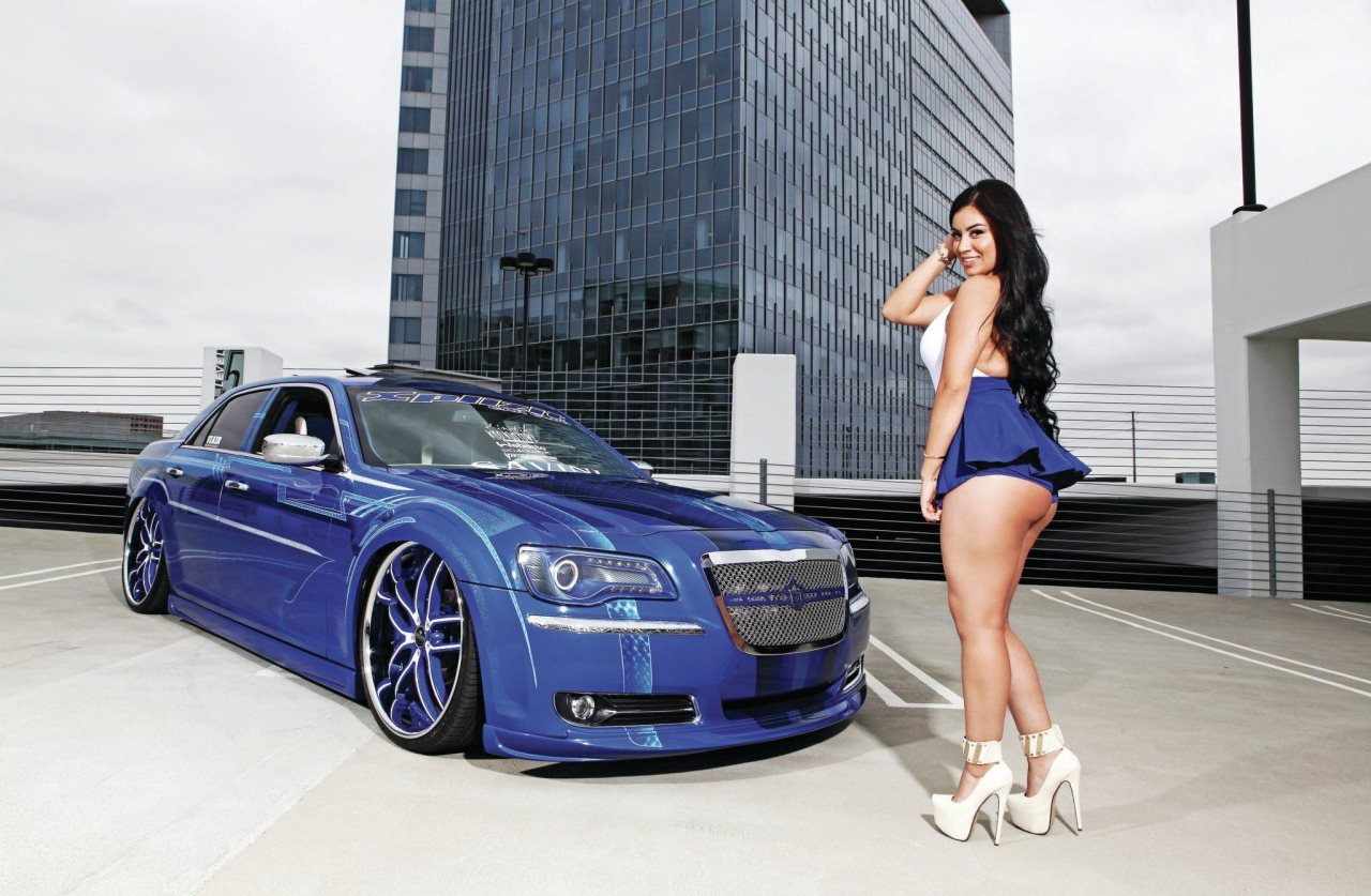 Chrysler 300 with Savini Wheels