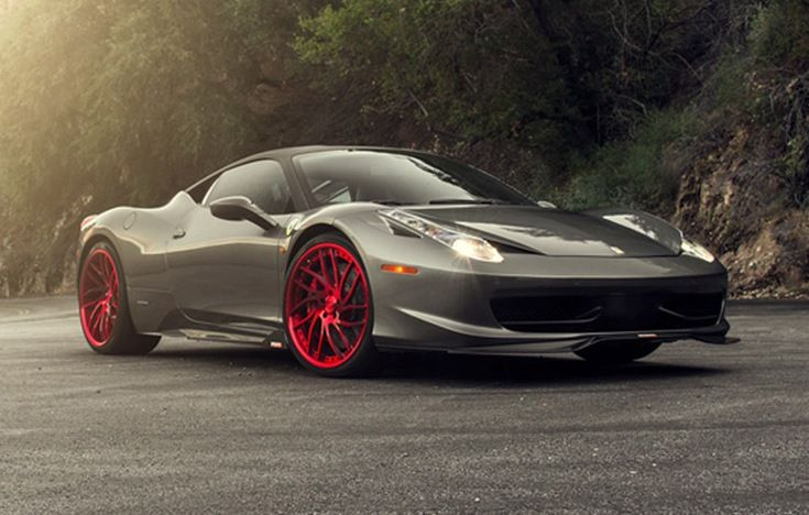 Ferrari 458 with Savini Wheels