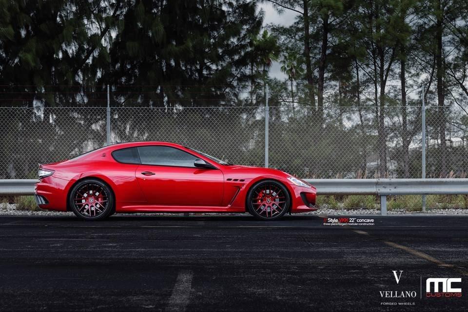 MC Customs Maserati GranTurismo MC Sportline on Vellano Wheels