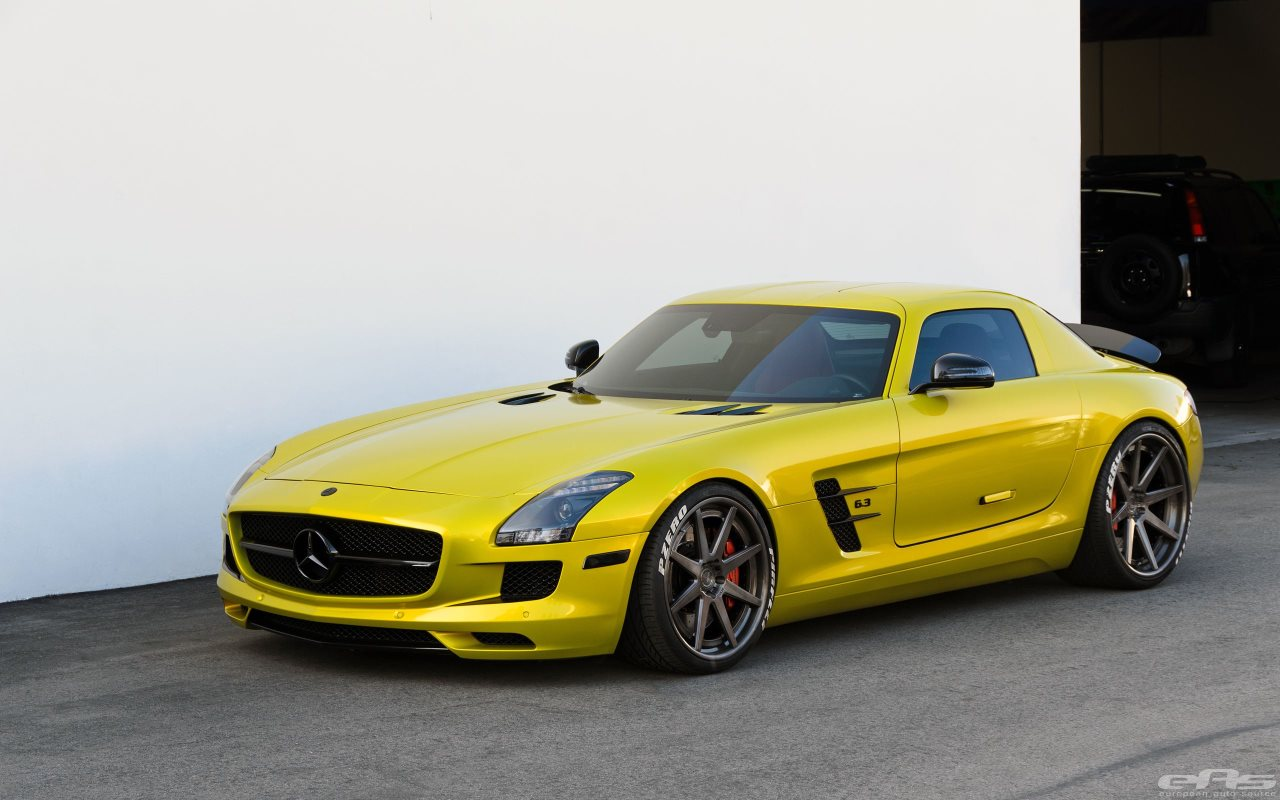 Mecedes-Benz SLS 63 AMG by European Auto Source
