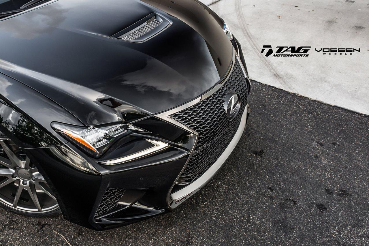 TAG Motorsports Lexus RC-F on Vossen Wheels