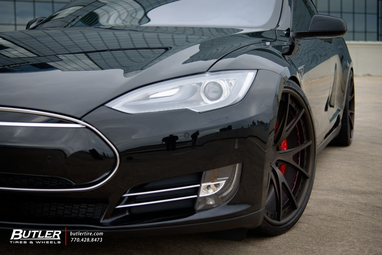 Tesla Model S P85D with Niche Wheels