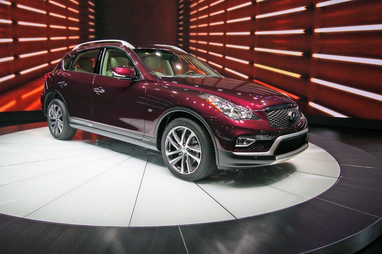 2016 infiniti qx50 2015 new york international auto show. Black Bedroom Furniture Sets. Home Design Ideas