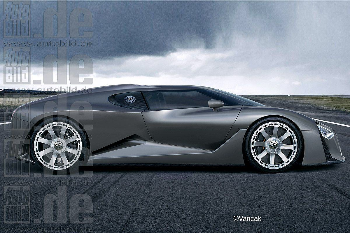 2016 Bugatti Chiron новый преемник Veyron