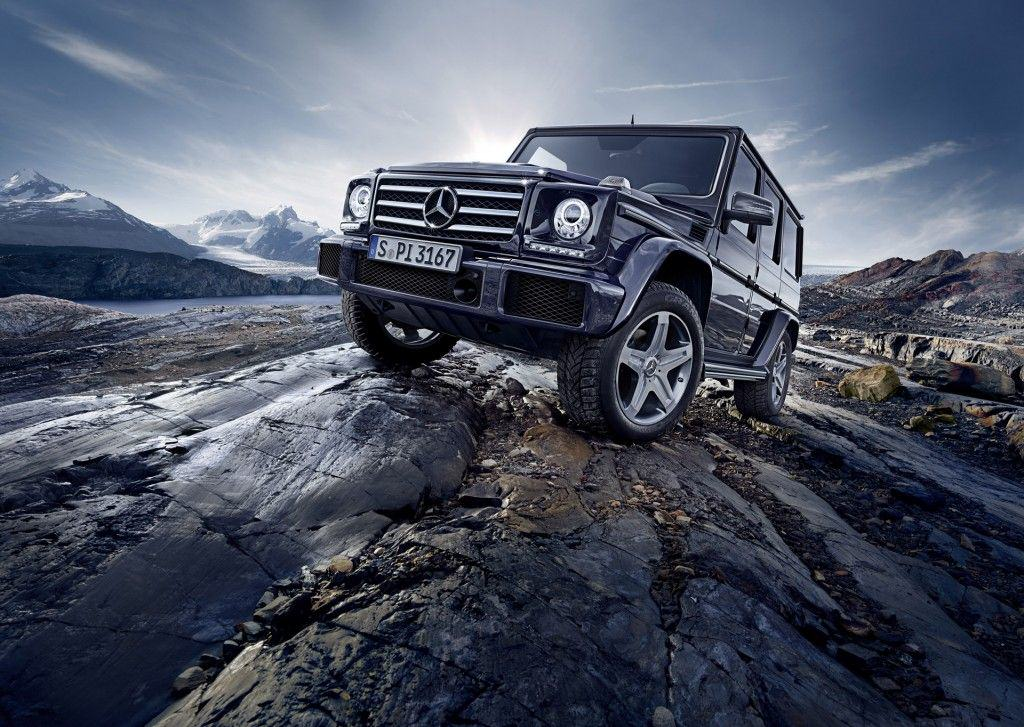 2016 Mercedes-Benz G-Class обновил V8 двигатель и шасси