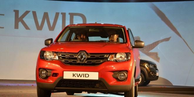 2016 Renault Kwid дебют в Индии