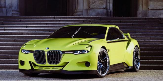 BMW 3.0 CSL Hommage Concept дебютировал на 2015 Concorso d'Eleganza Villa d'Este