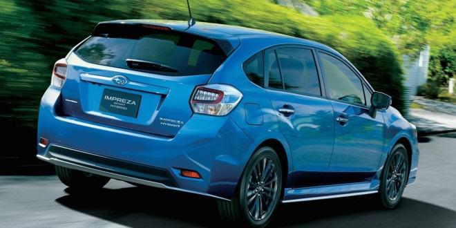2015 Subaru Impreza Sport Hybrid спец версия для Японии