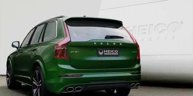 Стильный обвес Heico Sportiv для 2015 Volvo XC90