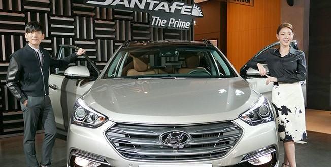 2016 Hyundai Santa Fe представили в Корее