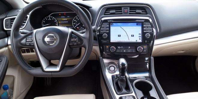 2016 Nissan Maxima поступил в автосалоны