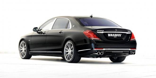 Доработанный BRABUS ROCKET 900 Mercedes-Maybach S600 6.3 V12