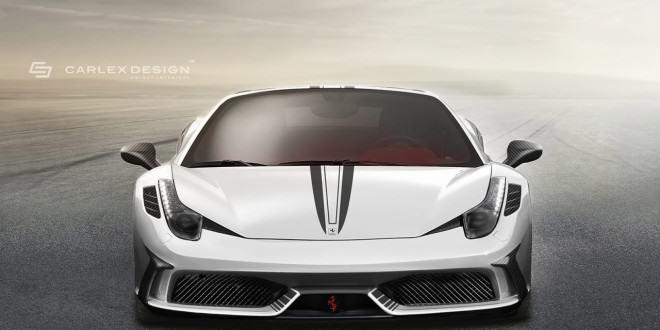 Тюнинг Ferrari 458 Spider Concept от Carlex Design